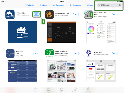 Installing the ETS Inside client on iOS – KNX Association